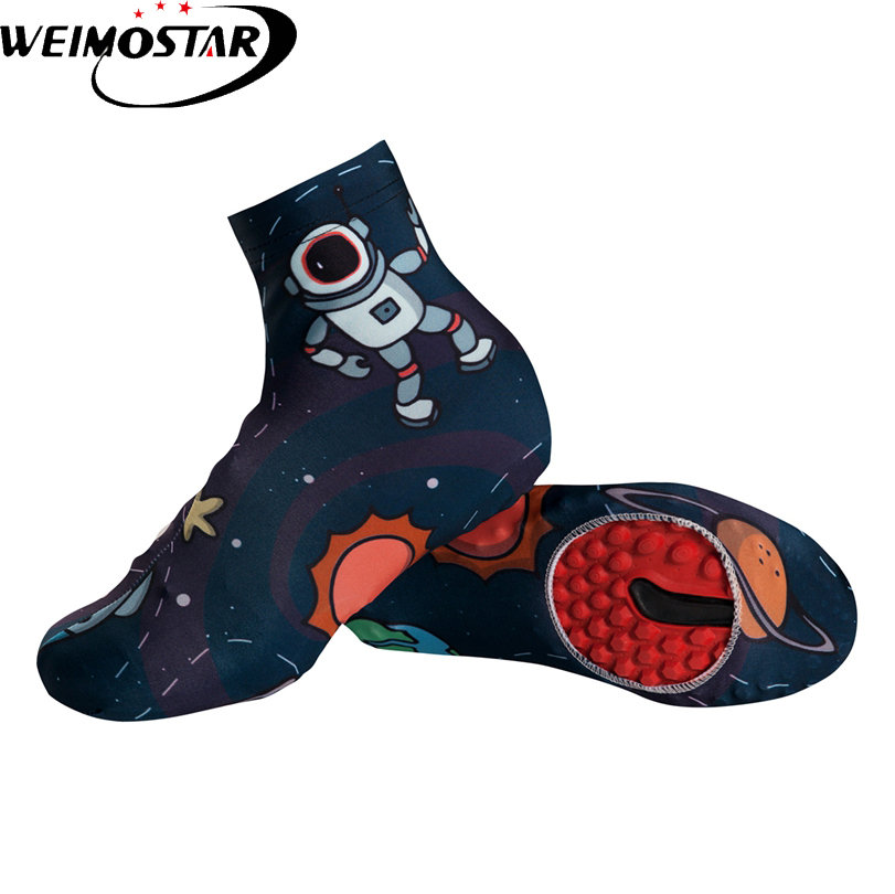 Weimostar Team Outdoor Bike Cycling Shoe Covers Ciclismo Windproof MTB Bike Equipment Overshoes Cycling Boot Cover