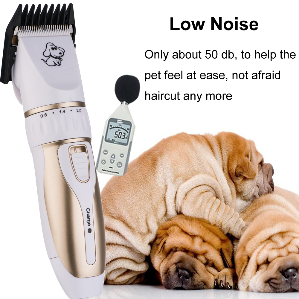 Rechargeable Low-noise Cat Dog Hair Trimmer Electrical Pet Hair Clipper Remover Cutter Grooming Pets Accessories Haircut 7