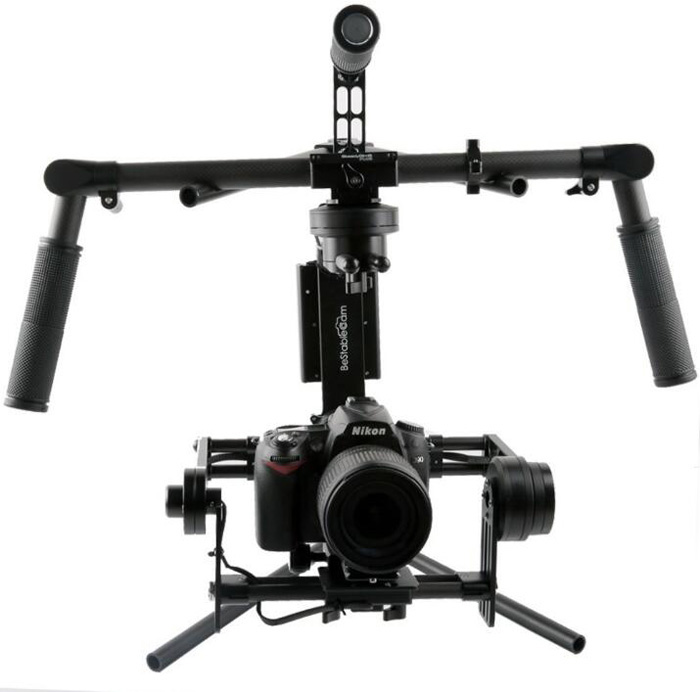 High Quality Aluminum Alloy Universal Brushless 3-axis Handheld Gimbal Portable Stabilizer Debug Holder Hanger Bracket Parts