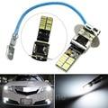 24-SMD-4014 H3 6500 K HID Xenon Branco Lâmpadas LED para Luz de Nevoeiro ou de Condução Da Lâmpada Nova