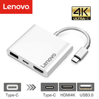 USB C HUB HDMI Adapter For Macbook Pro, Lenovo USB Type C Hub to Hdmi 4K USB 3.0 Port With USB C Power Delivery