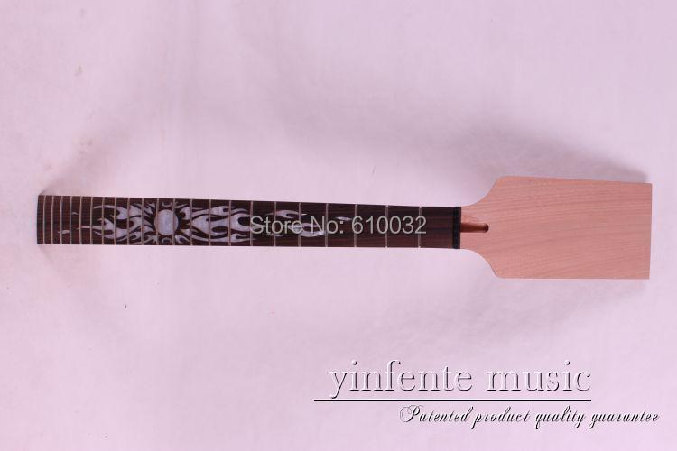 1 pcs lp  Electric Guitar Neck Solid wood  rose   wood FretBoard 22 Fret 008# 1pcs black guitar neck electric guitar neck solid wood 25 5 22 fret new 008