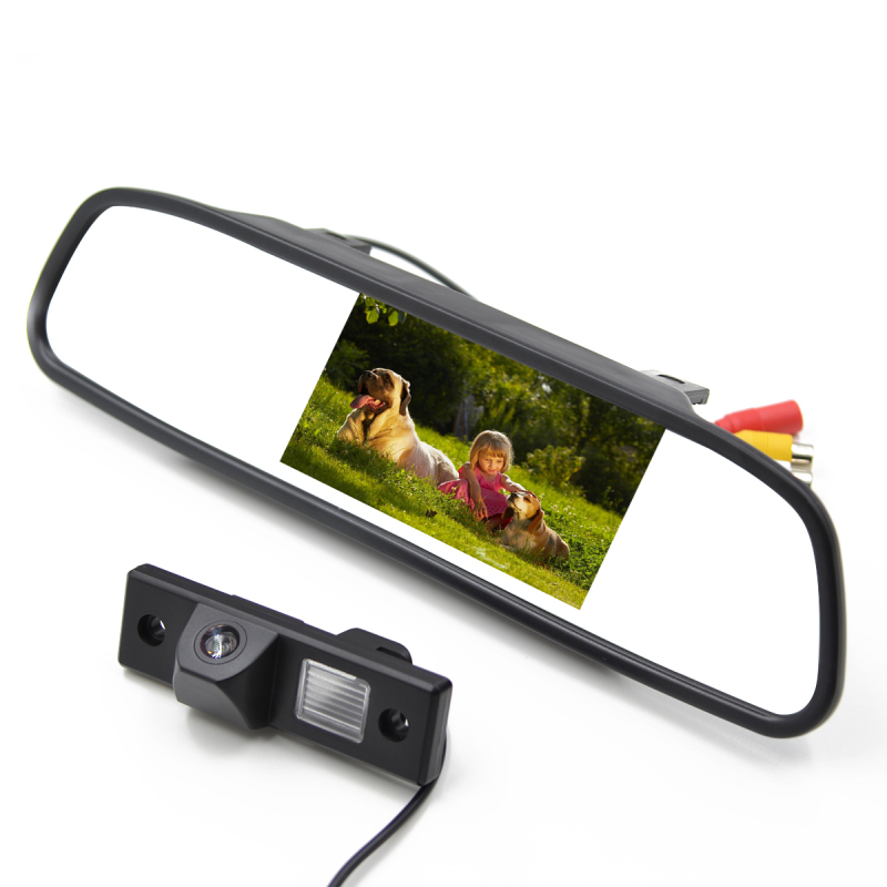 4.3 Inch LCD Car Rear View Mirror Monitor With Car Rear Camera For CHEVROLET EPICA/LOVA/AVEO/CAPTIVA/CRUZE/LACETTI HRV/SPARK