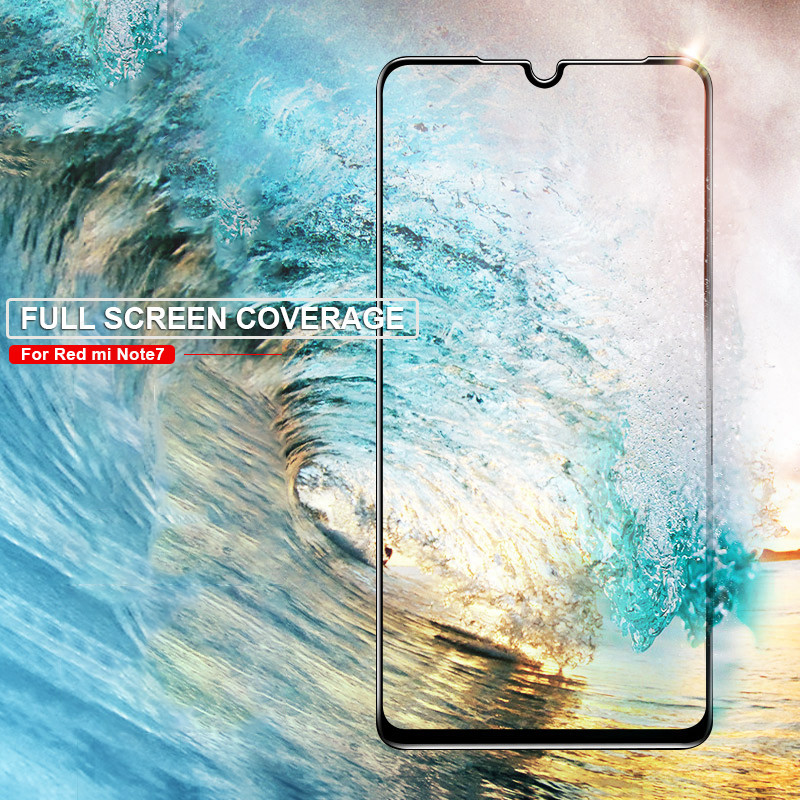 Image 5 - Full Glue Protective Glass For Xiaomi Mi 9 SE 9T CC9 CC9E A3 Lite Screen Protector For Redmi 7 7A K20 Note 7 Pro Tempered Glass-in Phone Screen Protectors from Cellphones & Telecommunications