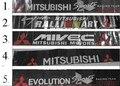 Para mitsubishi v5 nsutite v3 tatuagem do carro reflectorised sol-shading ascensão frente (1 peças/lote) frete grátis, atacado