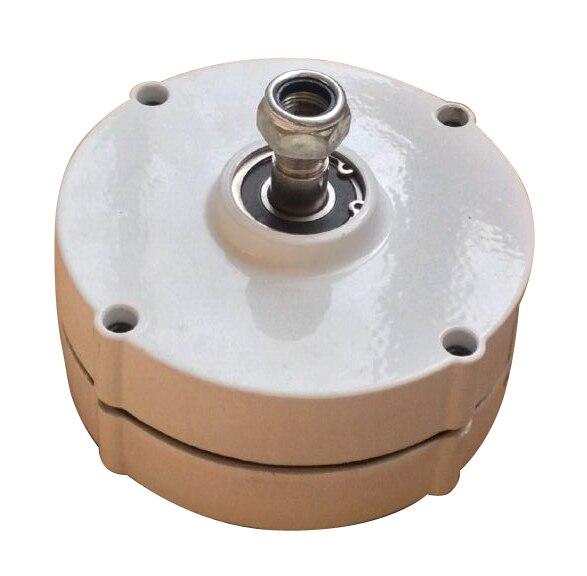 Alternateur de générateur d'aimant permanent sans brosse à ca de 100w ou de 200w 12v 24v pour le générateur d'éolienne bricolage