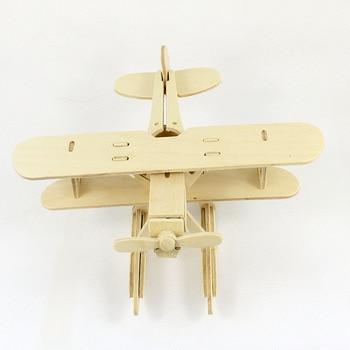 BOHS  Heinkel Jet Fighter Wooden Scale Model  Building Toys Diy  Assembling 3D Puzzle 1