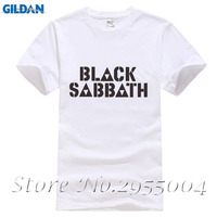 Rock Band Black Sabbath T Shirt Men Heavy Metal Tee Shirt Mens Short Sleeve Cotton Tees
