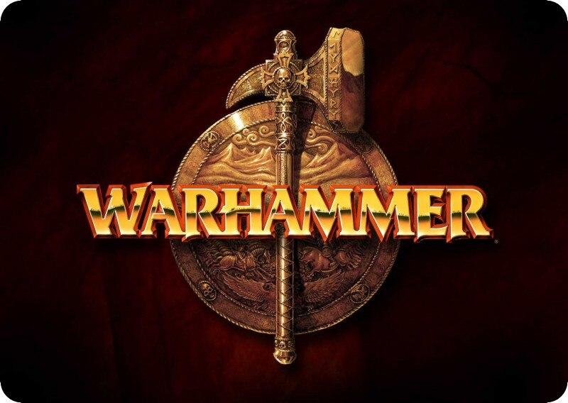 Warhammer 40 К коврик для мыши логотип игровой коврик для мыши властная геймер мыши ковр ...