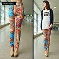 Bohemian Jegging All-Match Jean Legging Pants Hot Summer Style WYC36 Skinny Punk Printed Leggings Women's Fashion