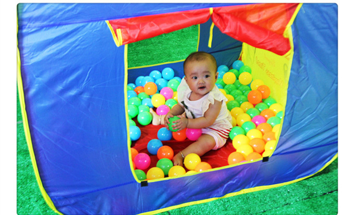 Fun Basketball Hoop Play Hut Childrenu0027s tent large game houses folding portable toy ocean ball pool house toys baby kids gift-in Toy Tents from Toys ...  sc 1 st  AliExpress.com & Fun Basketball Hoop Play Hut Childrenu0027s tent large game houses ...