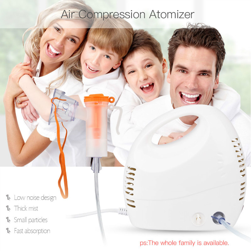 Medical Nebulizer Asthma Inhaler Air Compression Therapy Atomizer Household Health Care for Children Adult Home Use