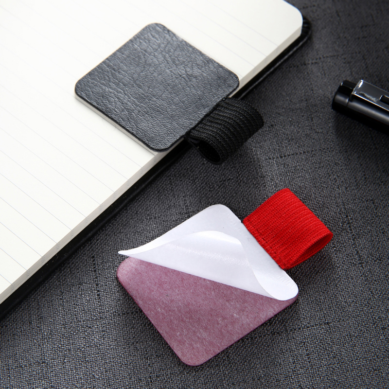 (2pcs To Sell)Self-adhesive Pen Clip Journal Notebook Planner Accessory Tablet PC Pen Holder 6colors Available