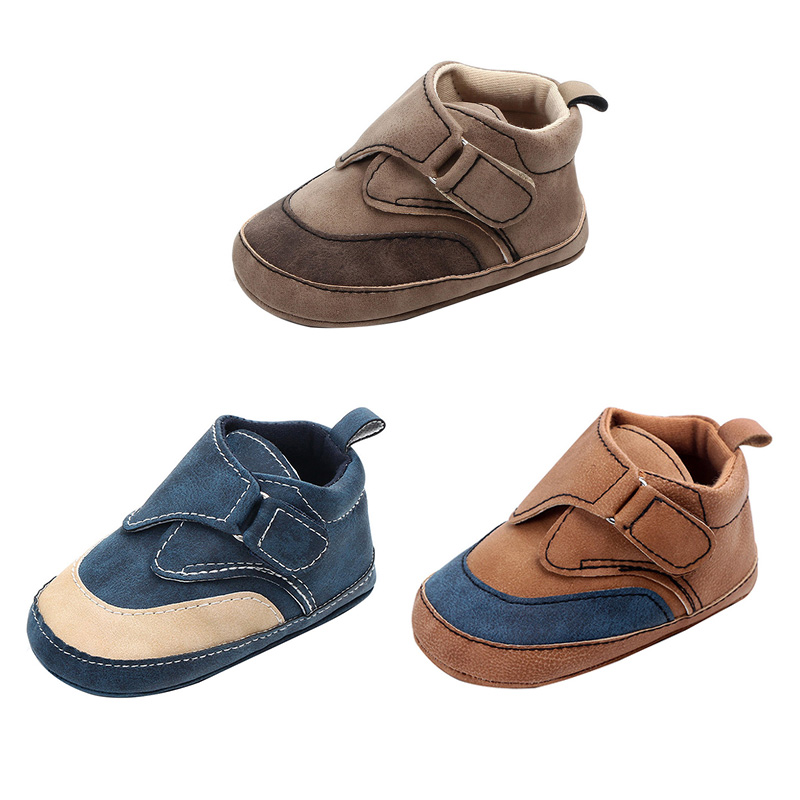 Shoes Sneakers Walking-Shoe Toddler Baby-Boys Breathable Soled Soft Casual 0-12M Patch