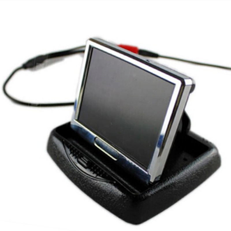 3.5 Inch Foldable LCD Monitor For Video Camera aputure digital 7inch lcd field video monitor v screen vs 1 finehd field monitor accepts hdmi av for dslr
