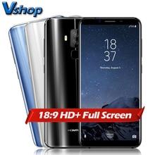 Original HOMTOM S8 4G Teléfonos Móviles Android 7.0 4 GB + 64 GB MTK6750T Octa Core Smartphone Dual Cámaras de Nuevo 5.7 pulgadas HD Celular teléfono