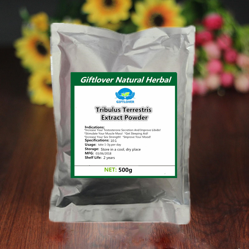 500g 100% Pure Natrual Tribulus Terrestris Extract Powder with Saponins,Tribulis,high quality from factory free shipping high quality and competitive price 100% natrual beet root juice powder 1kg