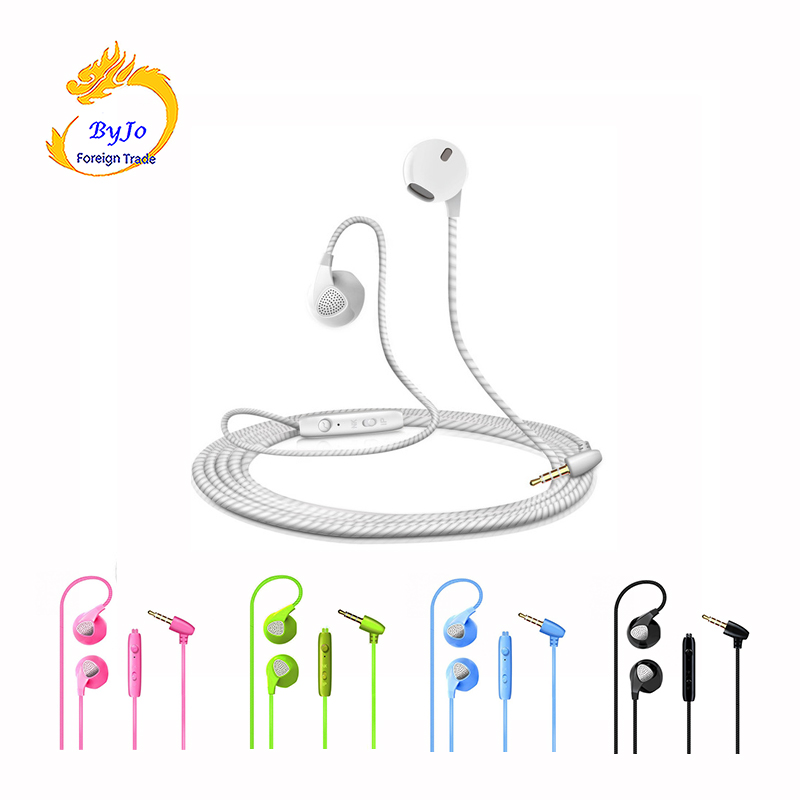 Colorful Headset 3.5mm In-ear Earphones Stereo Headphones Colorful Headset for mobile phone MP3 MP4 iPhone xiaomi huawei airpods hot faaeal 3 5mm in ear headphones dj headset alloy tune headset earbuds mobile mp3 wired earphones pk monk plus for cell phone