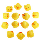 Hot One Dozen (12) Squeezing Rubber Duck Baby Shower Water toys for baby kids children Birthday Favors Gift For Children toy