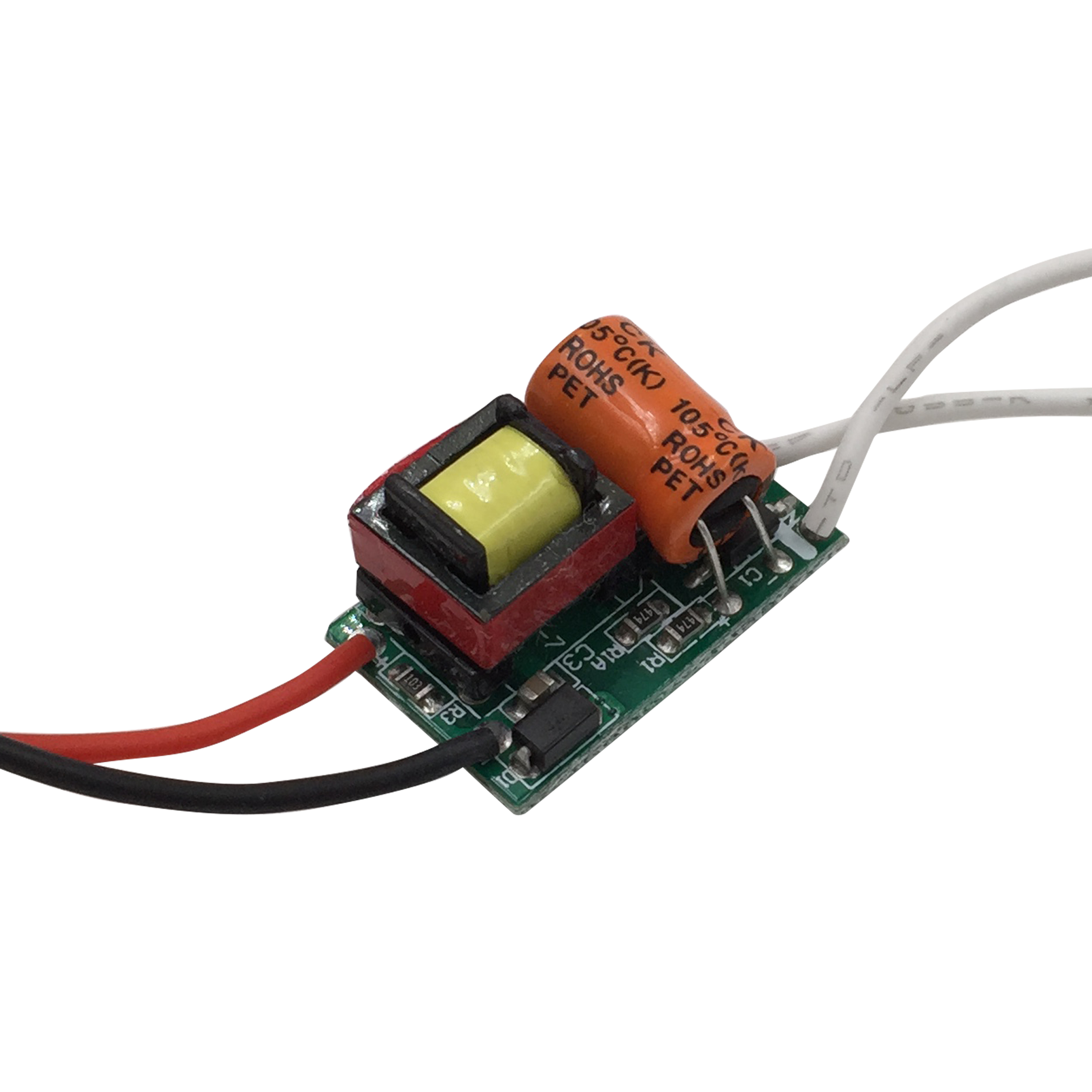 <font><b>LED</b></font> <font><b>Driver</b></font> built-in Power Supply Constant Current 280mA 300mA 3W 5W 7W <font><b>9W</b></font> 10W 12W 15W 20W 30W 36W Isolation Lighting Transformer image