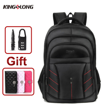KINGSLONG Men's Backpack 2017 15.6 Inch Laptop Backpack Bags Large Capacity Business Bag Backpack Women School Bag with Gift &42