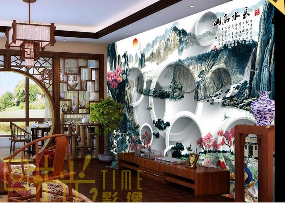 customize 3d photo mural wallpaper Chinese traditional painting TV backdrop 3d wallpapers for wall black white modern wallpaper yellow sunflower wallpaper mural painting living room bedroom 3d wallpaper tv backdrop 3d wallpaper photo wallpapers