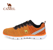 Camel Men's sports shoes breathable cushioning lace running shoes men sport footwear A622361075