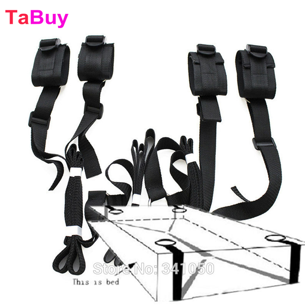 Tabuy Sex Toys For Couples Adult Games 2016 Erotic Toys Under Bed Restraint Bondage Fetish Sex Products Hand & Ankle Cuff Bdsm fetish sex furniture harness making love sex position pal bdsm bondage product erotic toy swing adult games sex toys for couples