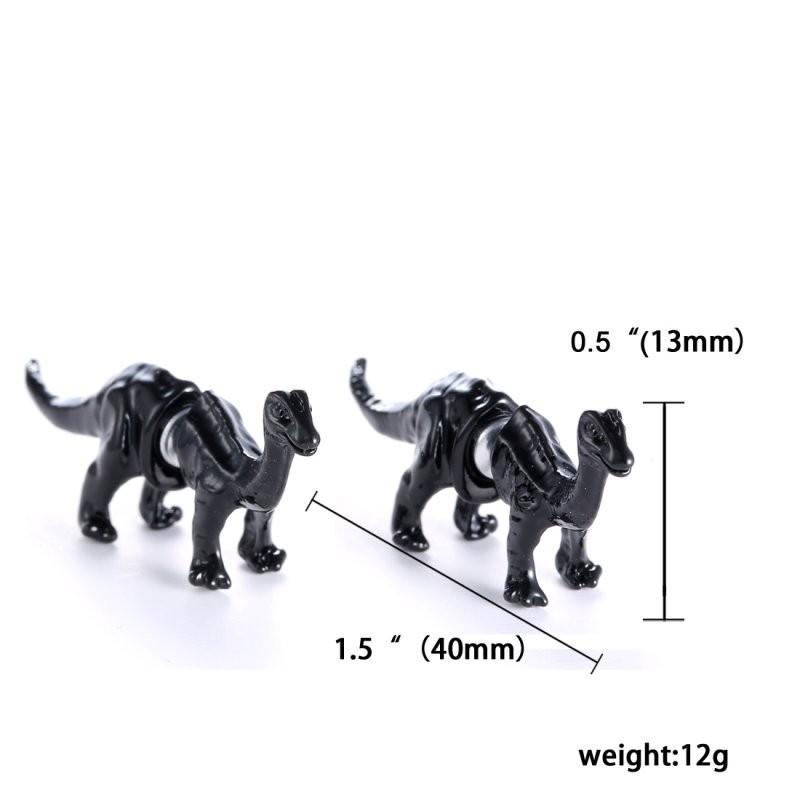 geekoplanet.com - 3D Animal Stud Earrings