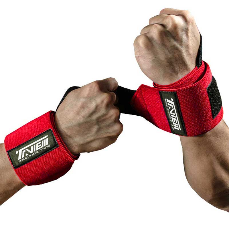 Weightlifting Wrist Wraps Support Brace for Powerlifting Strength Cross Training Bodybuilding Gym Workout Weight Lifting