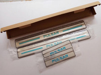 Stainless Door Sill Plate Entry Scuff Covers For Nissan Pulsar 2012 2016 Car Styling Stickers Accessories