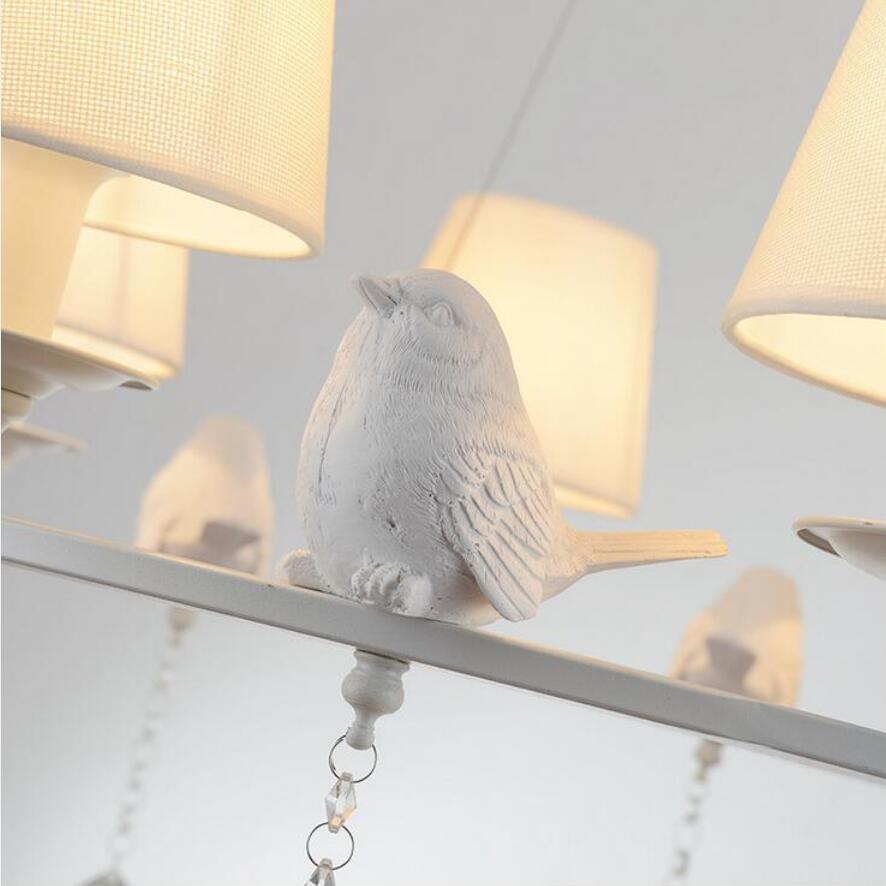 Moderne Kleine vogel Kristall Kronleuchter led lampen wohnzimmer ...