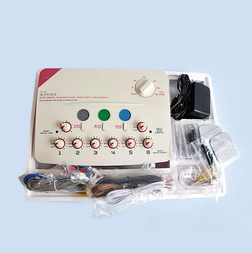 6 Output Channel Hwato Therapeutic Nerve Muscle Stimulator Sdz-ii Massager Health & Beauty Natural & Alternative Remedies