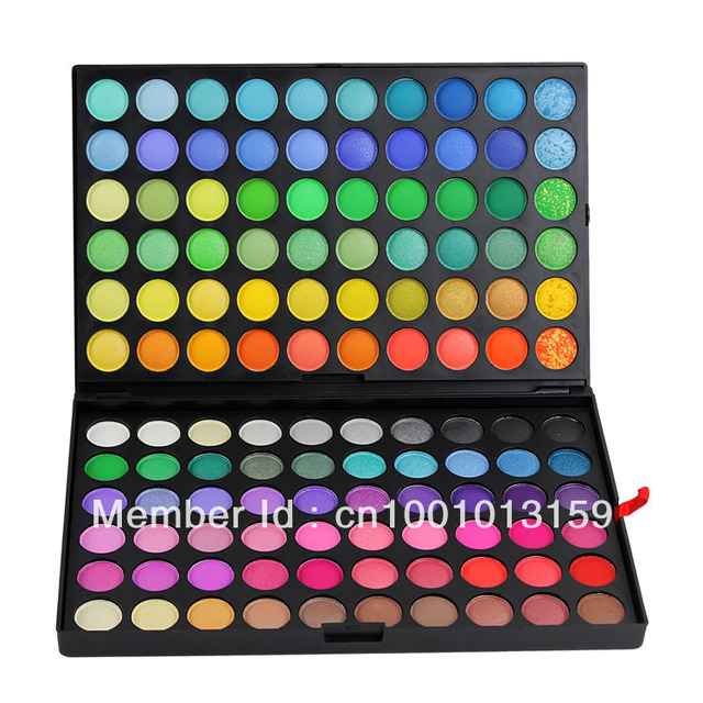 Manly 120 Full Color Eye Shadow Make Up Palette Set 1# Brand Cosmetic Kits Professional Makeup Eyeshadow