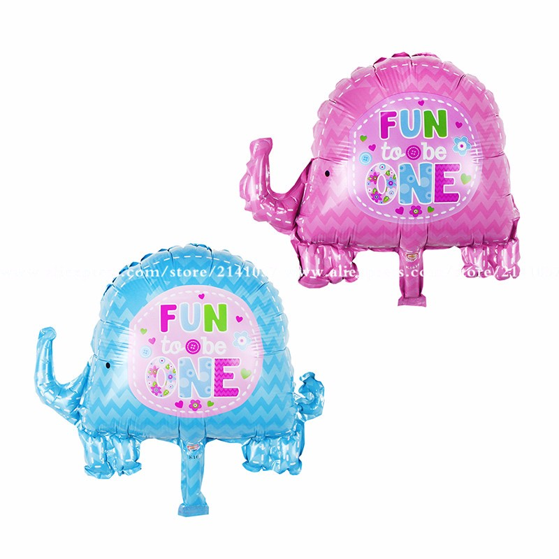 30pcs/lot Mini-series aluminum balloons party mini elephant Foil Balloons Birthd