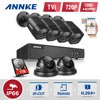 ANNKE 1 0MP 720P 8CH HD TVI H 264 DVR In Outdoor CCTV Security Camera System