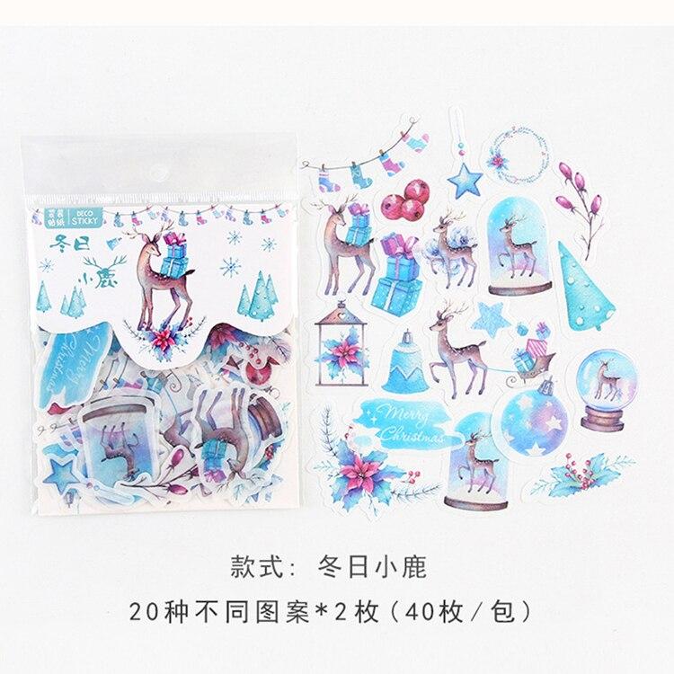 Mohamm кошка цветок дневник деко мини бумага декоративный космический календарь милые наклейки Скрапбукинг журнал хлопья канцелярские товары - Цвет: K