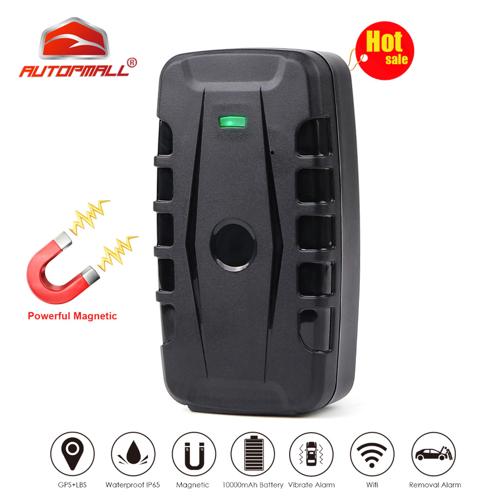 Car GPS Tracker LK209B Vehicle Tracking Device GPS Locator GSM GPRS Tracker 120 Days Standby Time Powerful Magnet Waterproof