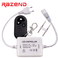 4pcs 110v 220v Single Colour Wireless RF Dimmer Remote Controller For LED Strip 5050 50meter Free