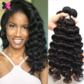 Queen Beauty Hair Indian Curly Virgin Hair 3 Pcs Lot 8A Mink Indian Deep Wave Virgin Hair Wet And Wavy Human Cheap Hair Bundles