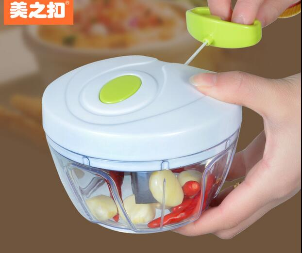 Magic Kitchen Vegetable Shredder Multipurpose Plastic Meat Grinder Creative Garlic Press
