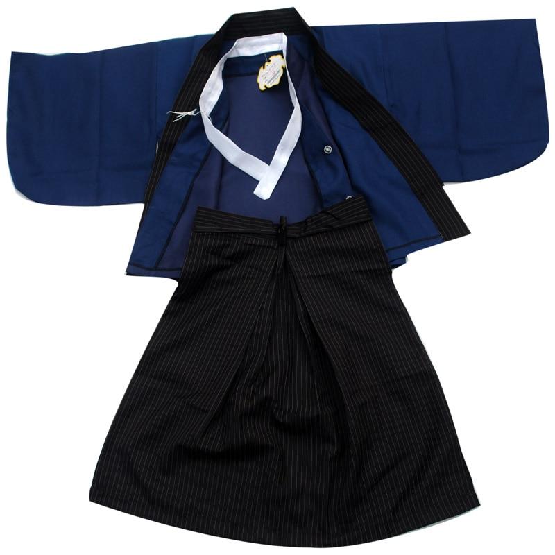 Yukata costume kimono pour enfants   vintage, noir et blanc, costume de danse de performance sur scène, adapté à la hauteur, nouveau 2019 japonais pour bébés garçons   AliExpress