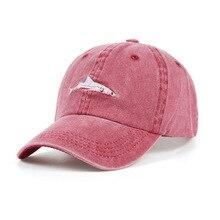 Summer Man  baseball cap shower stitched shark snapback hip hop embroidery curved strapback dad hat fish sun