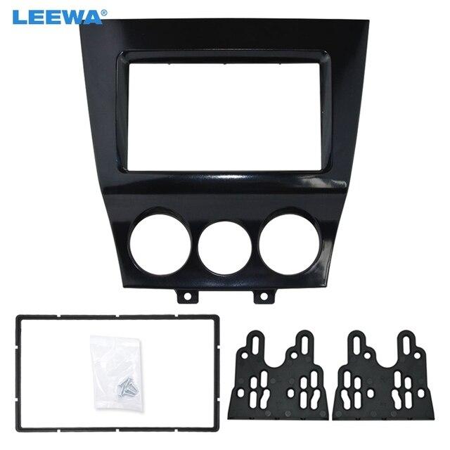 LEEWA araç DVD oynatıcı/CD Radyo Stereo Ön Pano Paneli Çerçeve Adaptörü Montaj Kiti Mazda RX8 2DIN Ses Çerçeve #4744