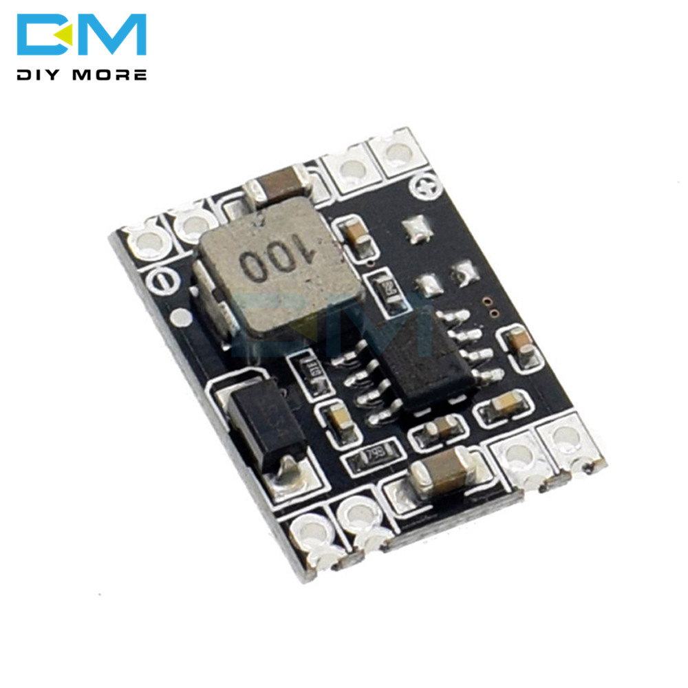 DC-DC Power Supply Module Step Down 3A output <font><b>24V</b></font>/<font><b>12V</b></font> <font><b>to</b></font> 5V 3.3V Buck Converter For <font><b>Arduino</b></font> Board Ultra-Small Size Mini image
