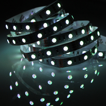 DC 12V LED light bulbs 1/5M waterproof led strip 5050 SMD fita decoration led Christmas Ribbon tape rope neon light lamp string