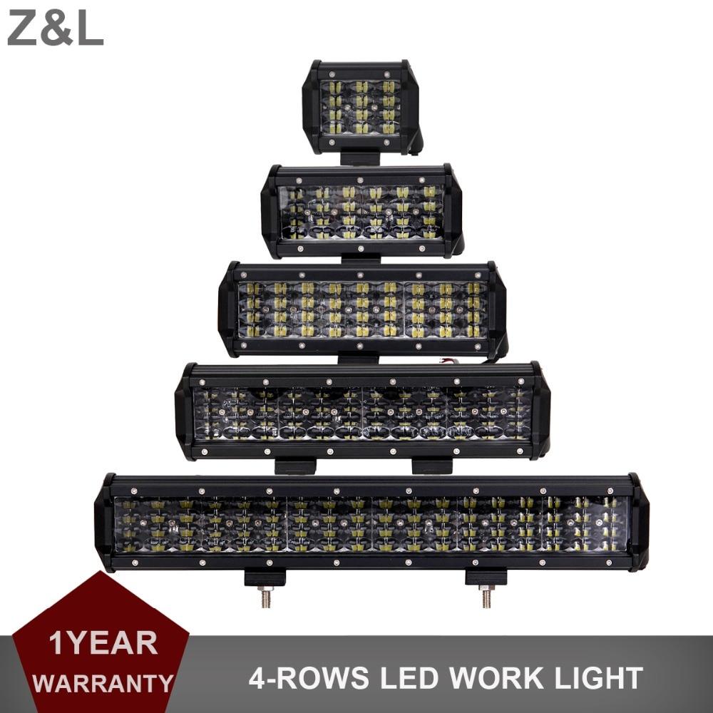 4 6.5 9 12 17 INCH LED WORK LIGHT CAR SUV 12V 24V MOTORCYCLE HEADLIGHT COMBO TRUCK TRAILER WAGON PICKUP BOAT INDICATOR FOG LAMP