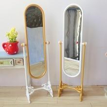 Allaosify BJD кукла аксессуары 1/6 1/8 Bjd полное зеркало тела Европейское зеркало полное тело зеркало кукла мебель
