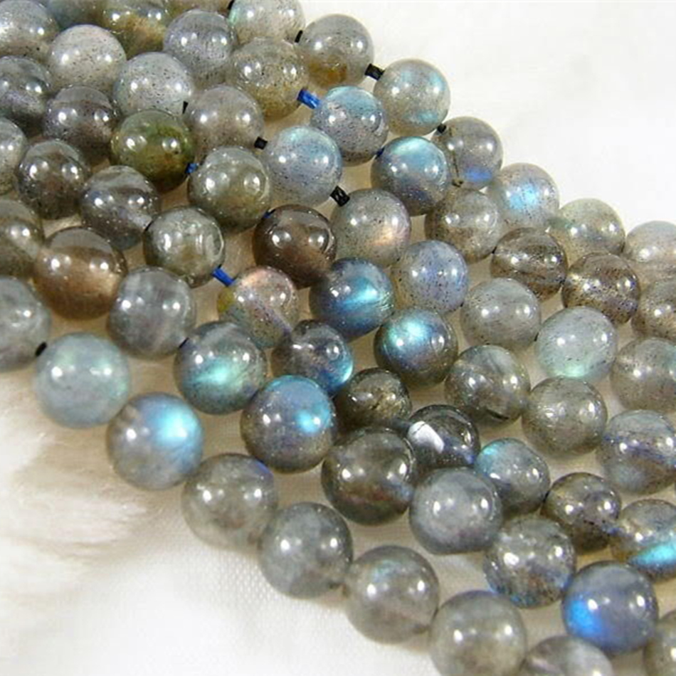 5 x Perle Labradorite 6mm