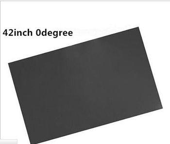 50pcs/lot 42inch 0degree LCD LED polarizer polarizing film for lcd led TV front film